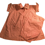 1930 Two Piece Mama Doll Outfit