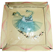 Vintage 1961 Ideal Shirley Temple Tutu and Flowers MIB