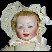 14 Inch Antique German Character Hertel Schwab & Co. 152 Baby Doll