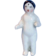1.25 Inch Antique 1860 German Frozen Charlotte China Doll