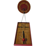 Old Basketball Toy Game The Mechanical Toy Company