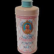 Vintage VANTA Baby Powder Talc Tin