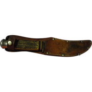 Vintage stag handle German knife American knife Co.