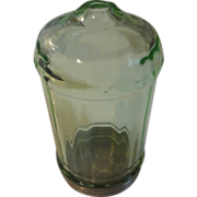 Rare green depression glass Sugar shaker