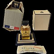 Vintage Sealed Extrait de Lanvin Arpege Perfume with box