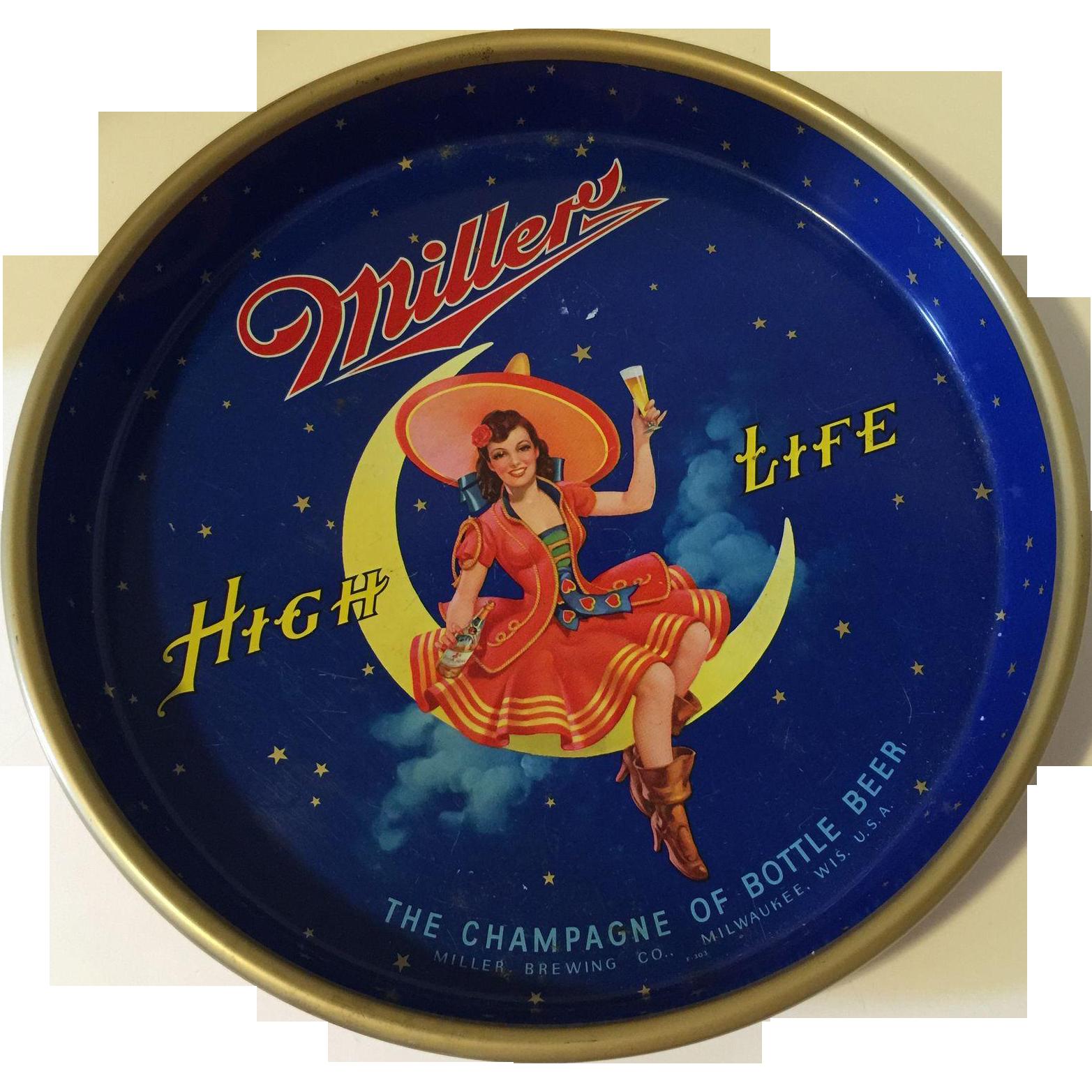 Vintage Miller High Life 115