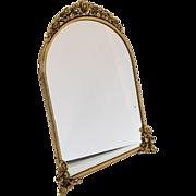 Vintage Matson Easel Back Mirror