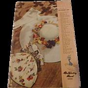 Vintage Montgomery Ward Catalog 1939 Spring & Summer