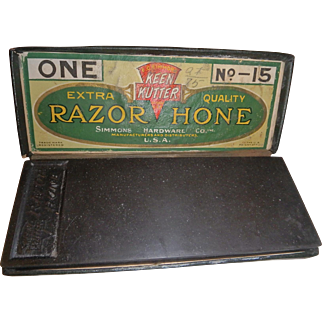 Vintage Keen-Cutter razor hone  number 15 Simmons hardware