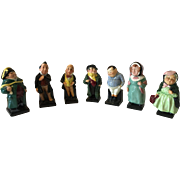 7 Royal Doulton  Figurines Charles Dickens Characters