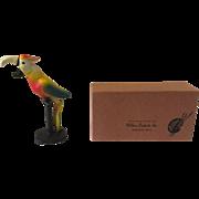 Vintage Wilton Cast Iron Parrot Bottle Opener with Box