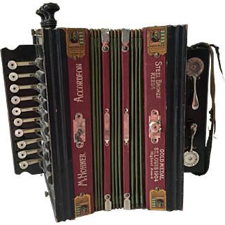 Antique Hohner Accordian