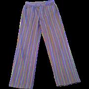 Vintage 1960's 70's Big E Levi's Sta-Prest Purple Stripe Jeans
