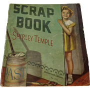 Vintage 1935 Shirley Temple Scrapbook Full