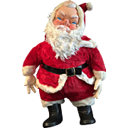 Vintage 1950's My Toy Stuffed Santa Claus Doll