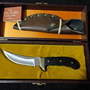 Buck Kalinga hunting knife in box