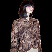 Emanuel Ungaro Parallele-Beaded Evening Jacket