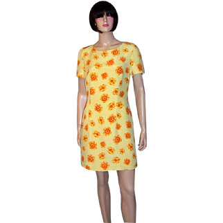 Escada Lively and Cheerful Dress by Margaretha Ley-Switzerland