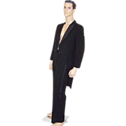 Men's Palm Beach Formals-Black Tuxedo with Tails