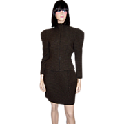 Superbly Designed, Cut, & Tailored Christian Lacroix Suit