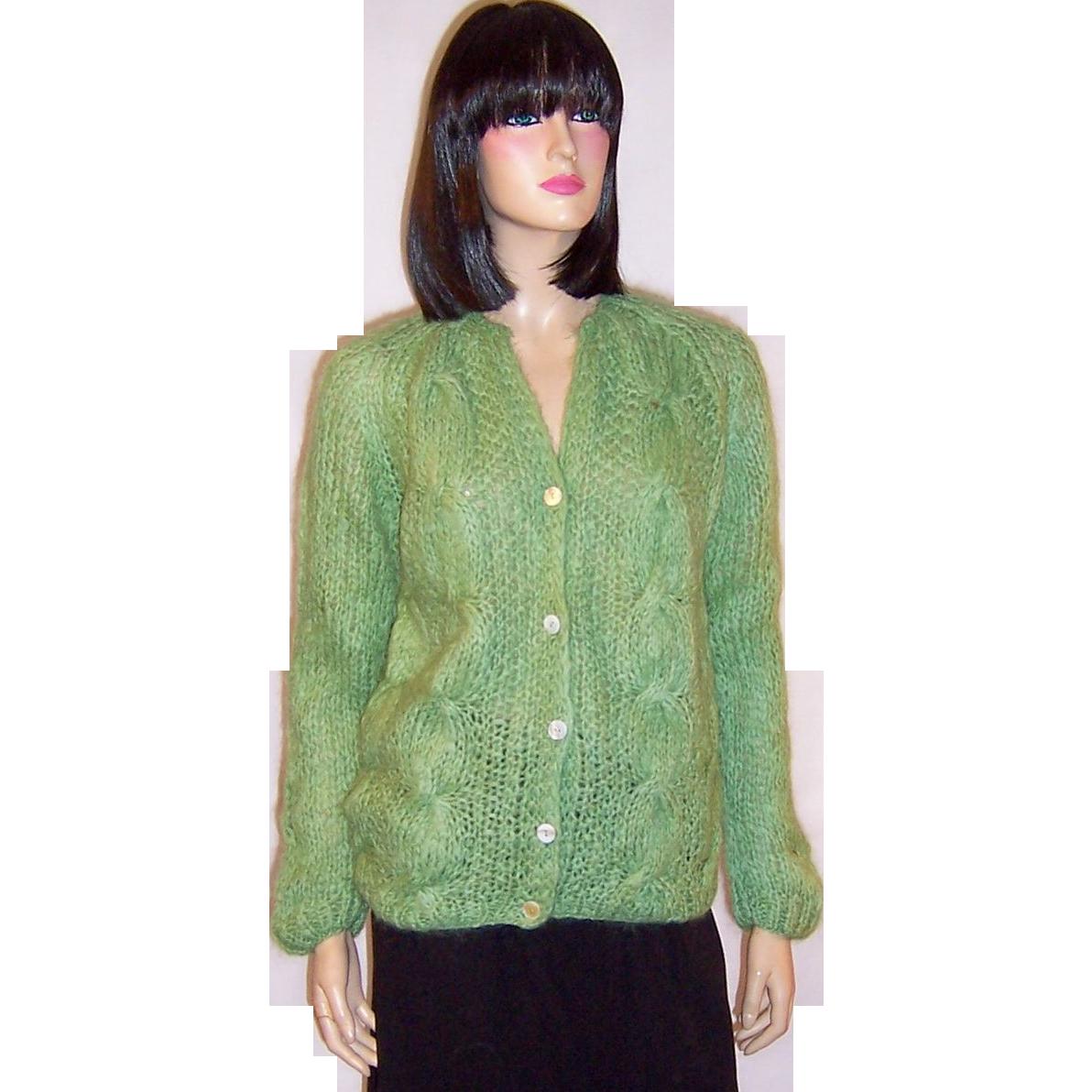 Green Handknit Sweater 21