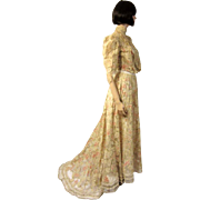 Delicately Beautiful Victorian Women's Three-Piece Ensemble