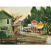 Wilfrid Taylor Mills Old Calabasas oil painting by well listed artist