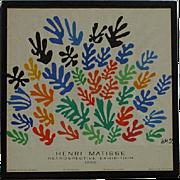 Henri Matisse 1966 Mourlot limited edition poster for UCLA