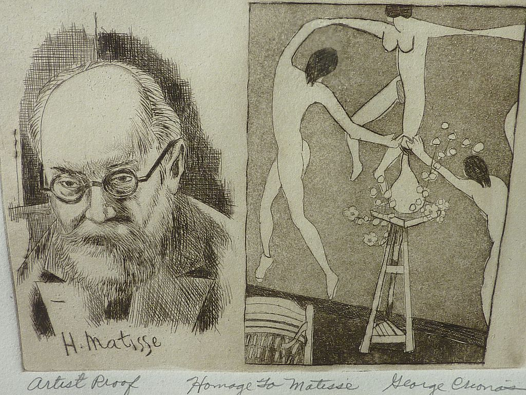 Homage To Henri Matisse Quality Etching By Artist George