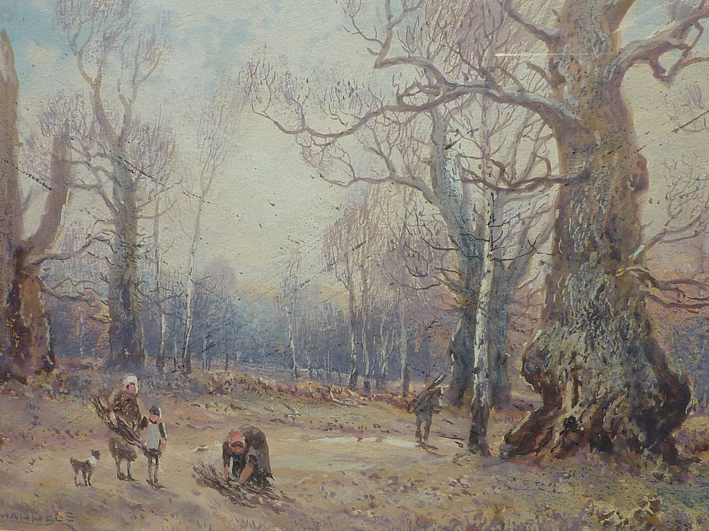 William Manners 1860 1930 Well Listed English Artist