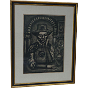 Gorges Rouault (1871 -1958) French well listed artist No.38 Miserere series etching 1926