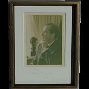 President Richard Nixon signed inscribed photograph