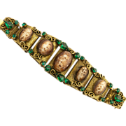 Extraordinary Art Deco Runway Bracelet
