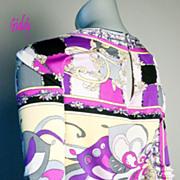 Vintage Emilio Pucci Silk Jersey Top *Sz 10