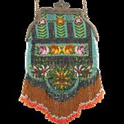 ca 1900 Micro Beaded Handbag