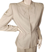 Gilbert Adrian Suit  circa 1942