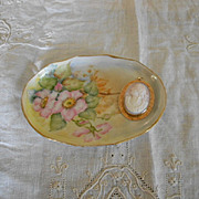 Hand Painted Small Porcelain Pin Tray