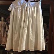 Antique Victorian Christening Gown & Slip