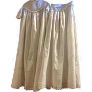 Antique Victorian Christening Gown & Slip