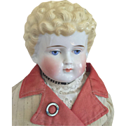 Antique China Head Doll in Great Clothes!