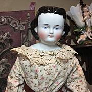 "Antique Adelina Patti China-21""Tall"