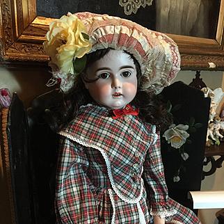"Beautiful Antique Kestner Turned Head Doll-32"" tall"