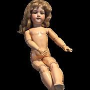 "27"" Tall AM 390 Bisque Doll TLC"