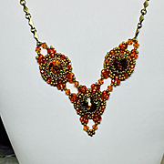 Beaded Necklace Set- Sedona Sunset