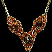 Beaded Necklace Set- Sedona Sunset