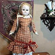 Antique Wax Over Papermache with Original Clothes!!