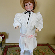 Vintage Child's Coat with Ruffled Collar