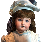 "Beautiful French Bisque Doll-20"" Tall"