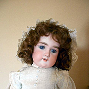 "Antique Bisque Floradora Doll -All Original 20"" Tall"