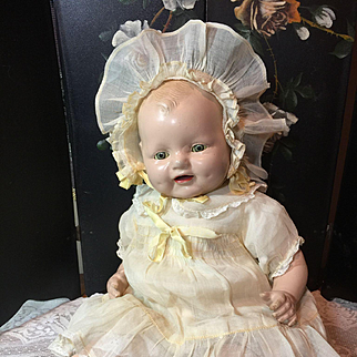 """18"""" Baby Dimples By Horsman- 1928 Original Clothes!"""